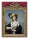 Yolande-Gabrielle-Martine de Polastron, duchesse de Polignac (1749-1793) Giclée-Druck von Elisabeth Louise Vigée-LeBrun