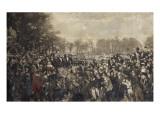 La célébration du centenaire des Etats-Généraux de 1789, célébré par le pré Giclee Print by Alfred Roll