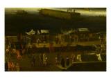Vue perspective No.7 de la Seine de Paris sur le palais du Louvre, depuis le Pont Neuf vers 1666 Giclee Print