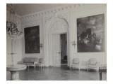 vue de la grande salle à manger du Petit Trianon au début du 20e siècle, avant la remise en place Reproduction procédé giclée