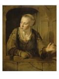 Jeune fille à la fenêtre Giclée-Druck von Jan Victors