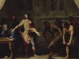 """Alexandre le Grand faisant porter à Aristote divers animaux étrangers afin qu'il écrive son """" Lámina giclée por Jean-Baptiste de Champaigne"""