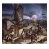 Bataille de Valmy, remportée par le général Kellermann, le 20 septembre 1792 Giclée-Druck von Horace Vernet