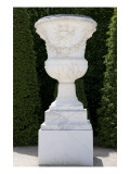Park View: Rond-Point, Green Carpet Entrance, Driveway Royale Medici Monumental Vase Shape Giclee Print by Jean Robert