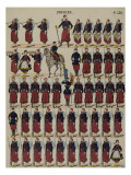 Zouaves Reproduction proc&#233;d&#233; gicl&#233;e