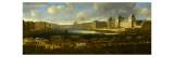 Vue perspective No.1 de la Seine de Paris sur le palais du Louvre, depuis le Pont Neuf vers 1666 Giclee Print