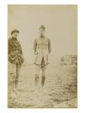 Photographie de Dominique Moreau-Nélaton et un soldat Giclee Print by Etienne Moreau-Nelaton