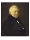 Philippe-Henri Schünck, compositeur, conservateur de la galerie de peintures de la duchesse Giclee Print by Georges Rouget