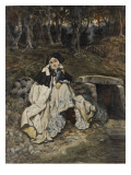 Young Woman in the Costume of the Sixteenth Century Giclee Print by James Tissot