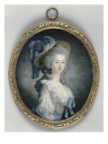 Portrait de Marie-Th&#233;r&#232;se Louise de Savoie Carignan, princesse de Lamballe, surintendante de la Giclee Print by Joseph Boze