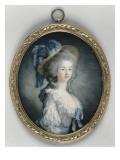 Portrait de Marie-Thérèse Louise de Savoie Carignan, princesse de Lamballe, surintendante de la Giclee Print by Joseph Boze