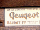 Peugeot Advertising from the Late 1930S Photographie