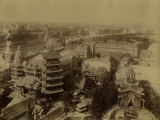 "Paris, 1900 World Exhibition, Shot Taken from the Eiffel Tower""S First Floor Photographie par Brothers Neurdein"