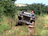 Willys Jeep Photographic Print