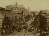 Paris, The Halles and the Pavillon Baltard Photographie par Brothers Neurdein