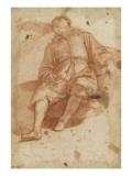 Jeune homme assis et endormi Giclee Print by Matteo Rosselli