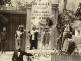 Paris, 1900 World Exhibition, A Street Show Photographic Print
