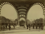 Paris, 1900 World Exhibition, The Great Door Photographic Print