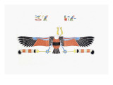 The Vulture, Living Emblem of Neith Giclee Print by Jean-Fran?s Champollion