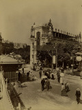Paris, 1900 World Exhibition, Entrance to the Paris Street Photographic Print