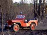 Willys Jeep for Firefighting Photographic Print