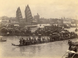 The River of Pearls in Canton, China, Photographic Print