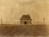 "Location of the Ming Tombs in Peking (China), ""Tablet Tower"" Photographic Print"
