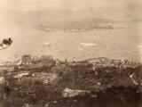 Hong Kong and Kowloon Bay (China) Fotografie-Druck
