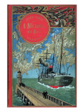 """Jules Verne, Cover of """"Propeller Island"""" Giclée-Druck von Jules Verne"""