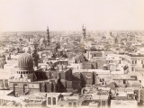 Overall View of Cairo (Egypt) Photographic Print by J.P. Sebah