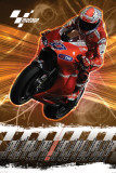 Moto G.P (Casey Stoner) Print
