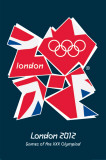 London 2012 Olympics (Union Flag) Print
