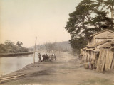 Negishi, Near Yokohama (Japan) Photographic Print by Felice Beato