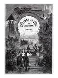 """Jules Verne, """"Keraban the Inflexible"""", Frontispiece Giclée-Druck von Jules Verne"""
