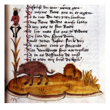 "Henry De Ferrieres, ""The Book of King Modus and Queen Ratio"" Boar Giclee Print by Henry de Ferrieres"