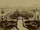 Paris, 1900 World Exhibition, The Official Procession on the Opening Day Photographie par Brothers Neurdein
