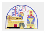 Emblem of Hathor Giclee Print by Jean-Fran?s Champollion
