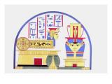 Emblem of Hathor Giclee Print by Jean-Fran?s Champollion