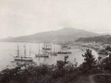 West Indies, View of St. Pierre, Martinique Fotografie-Druck