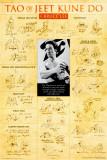 Učení Bruce Leeho (text vangličtině) Plakát