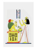 The Baboon, Living Emblem of Thoth Giclee Print by Jean-Fran?s Champollion