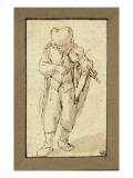Jeune garçon jouant du violon Giclée-Druck von Adrien Van Ostade