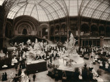 Paris, 1900 World Exhibition, Sculptures of the Grand Palais Photographic Print