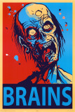 Zombie Gehirne Kunstdrucke