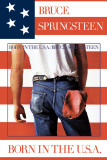 Bruce Springsteen (Born In The U.S.A.) Poster