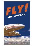 Air America Tristar Giclee Print