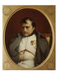 Delaroche, Napoleon after His Farewell Speech at Fontainebleau Giclee Print by Paul Delaroche
