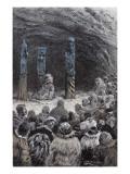 """Jules Verne, """"César Cascabel"""", Illustration Giclee Print by Jules Verne"""