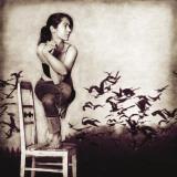 Garudasana Affiches par Gosia Janik