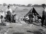 A Gypsy Camp in Bulgary, 1938 Photographic Print